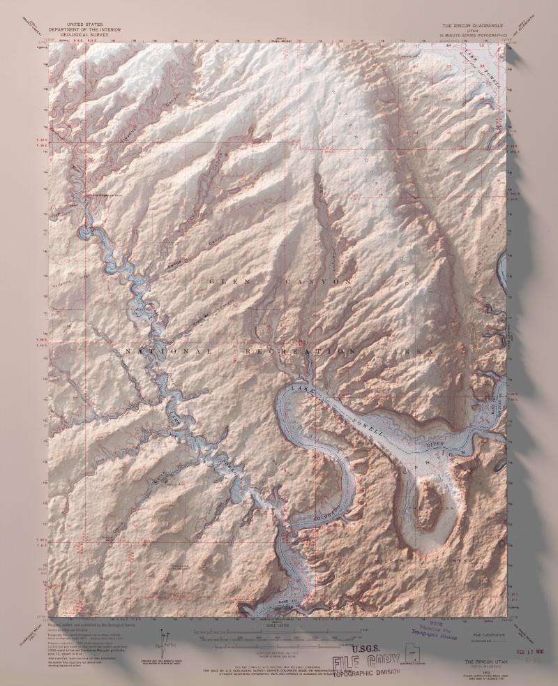 North America USA Utah Glen Canyon National Recreation Area rh
